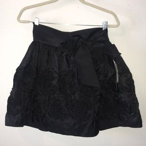 My Michelle ruffle black skirt.